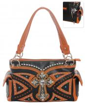 G939W122LCRA(BK)-wholesale-handbag-leatherette-cross-rhinestones-silver-faux-leather-stitch-turquoise-stone-concealed(0).jpg