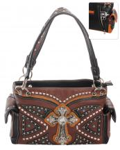 G939W122LCRA(BR)-wholesale-handbag-leatherette-cross-rhinestones-silver-faux-leather-stitch-turquoise-stone-concealed(0).jpg