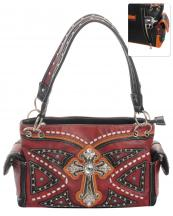 G939W122LCRA(RD)-wholesale-handbag-leatherette-cross-rhinestones-silver-faux-leather-stitch-turquoise-stone-concealed(0).jpg
