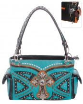 G939W122LCRA(TQ)-wholesale-handbag-leatherette-cross-rhinestones-silver-faux-leather-stitch-turquoise-stone-concealed(0).jpg