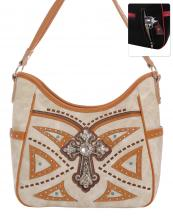 G979W122LCR(BG)-wholesale-handbag-leatherette-cross-rhinestones-silver-faux-leather-stitch-turquoise-stone-concealed(0).jpg