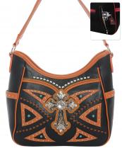 G979W122LCR(BK)-wholesale-handbag-leatherette-cross-rhinestones-silver-faux-leather-stitch-turquoise-stone-concealed(0).jpg