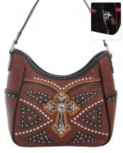G979W122LCR(BR)-wholesale-handbag-leatherette-cross-rhinestones-silver-faux-leather-stitch-turquoise-stone-concealed(0).jpg