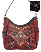 G979W122LCR(RD)-wholesale-handbag-leatherette-cross-rhinestones-silver-faux-leather-stitch-turquoise-stone-concealed(0).jpg