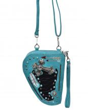 GB165(TQ)-wholesale-pistol-case-handgun-cross-concho-turquoise-rhinestone-stud-arrow-feather-alligator-inlay(0).jpg