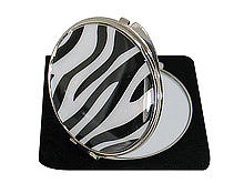 Zebra Compact Mirror