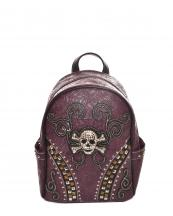 GSK46W168(PU)-wholesale-backpack-wallet-skull-pattern-tribal-vegan-pocket-southwestern-color-bag(0).jpg
