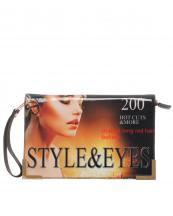 H8261(BR)-wholesale-fold-over-faux-leather-patent-leatherette-wristlet-clutch-eveningbag-magazine-chain-strap(0).jpg