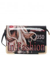 H8281(BK)-wholesale-fold-over-faux-leather-patent-leatherette-wristlet-clutch-eveningbag-magazine(0).jpg