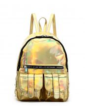HAR25685(GD)-wholesale-backpack-hologram-metallic-patent-leatherette-flap-pocket-solid-color-rainbow-zipper-shiny(0).jpg