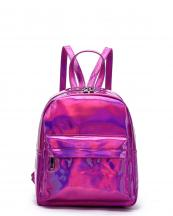 HAR25686(FU)-wholesale-backpack-hologram-metallic-patent-leatherette-pocket-solid-color-rainbow-zipper-shiny(0).jpg