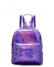 HAR25686(PP)-wholesale-backpack-hologram-metallic-patent-leatherette-pocket-solid-color-rainbow-zipper-shiny(0).jpg