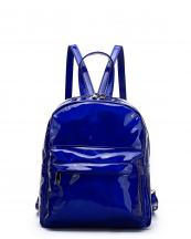 HAR25686(RBL)-wholesale-backpack-hologram-metallic-patent-leatherette-pocket-solid-color-rainbow-zipper-shiny(0).jpg
