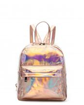 HAR25686(RGD)-wholesale-backpack-hologram-metallic-patent-leatherette-pocket-solid-color-rainbow-zipper-shiny(0).jpg