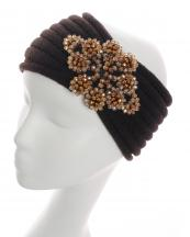 HB16116(BR)-Wholesale-headwrap-elastic-crochet-knit-solid-color-adjustable-acrylic-paisley-motif-beads(0).jpg