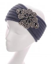 HB16116(GY)-Wholesale-headwrap-elastic-crochet-knit-solid-color-adjustable-acrylic-paisley-motif-beads(0).jpg