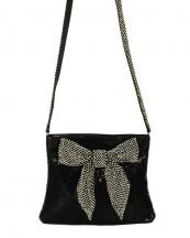 HBG100498(BK)-wholesale-mesh-messenger-bag-ribbon-rhinestone-(0).jpg