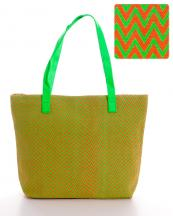 HBG101084(LM)-wholesale-tote-bag-handbag-fabric-multi-color-chevron-faux-leather-Leatherette-zipper(0).jpg