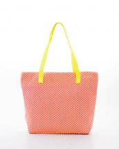 HBG101084(YL)-wholesale-tote-bag-handbag-fabric-multi-color-chevron-faux-leather-Leatherette-zipper(0).jpg