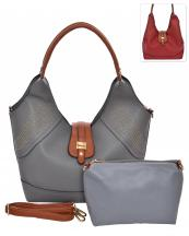 HC1661(PW)-wholesale-handbag-pouch-bag-2pc-set-gold-stud-flap-leatherette-strap-transform-wide-solid-color-faux(0).jpg