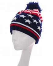 IJ0003(MR)-wholesale-knit-beanie-stretch-fit-pompom-multi-color-flag-stars-stripes-warm-fleece-nining-(0).jpg