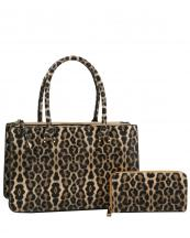 JN0020W(TAN)-(SET-2PCS)-wholesale-handbag-wallet-leopard-animal-pattern-print-vegan-leatherette-compartments-zipper-strap(0).jpg