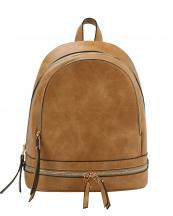 JY0196(TAN)-wholesale-backpack-solid-color-vegan-leatherette-strap-gold-zipper-fashion-travel-belt-pocket-stud(0).jpg