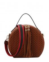 JY0254(BR)-wholesale-messenger-bag-chevron-embossed-solid-color-tassel-stripe-shoulder-strap-circled-shape(0).jpg