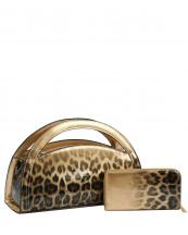 JY0287W(GD)-(SET-2PCS)-wholesale-handbag-wallet-leopard-animal-pattern-gradient-patent-vegan-leatherette-metallic-half-moon(0).jpg