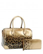 JY0288W(GD)-(SET-2PCS)-wholesale-handbag-wallet-leopard-animal-pattern-gradient-patent-vegan-leatherette-metallic(0).jpg