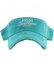 KBR156(TQ)-W02-wholesale-hello-sunshine-vintage-visor-star-and-foot-print-embroidered-cotton(0).jpg