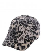 KBV1012(BK)-wholesale-baseball-cap-stitched-printed-leopard-topaz-rhinestone-cross-velcro-closure-embroidered(0).jpg