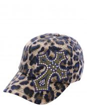 KBV1012(BL)-wholesale-baseball-cap-stitched-printed-leopard-topaz-rhinestone-cross-velcro-closure-embroidered(0).jpg