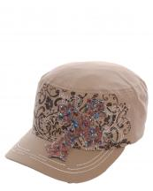 KBV1014(KHA)-wholesale-cadet-cap-stitched-printed-floral-resin-beads-patch-cross-velcro-closure-embroidered(0).jpg