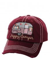 KBV1034(BUR)-W92-wholesale-baseball-cap-happy-camper-camp-trailer-rv-vintage-torn-stitched-size-adjustable-cotton(0).jpg