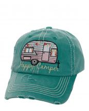 KBV1034(TQ)-W92-wholesale-baseball-cap-happy-camper-camp-trailer-rv-vintage-torn-stitched-size-adjustable-cotton(0).jpg