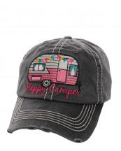 KBV1034(WASHBK)-W92-wholesale-baseball-cap-happy-camper-camp-trailer-rv-vintage-torn-stitched-size-adjustable-cotton(0).jpg