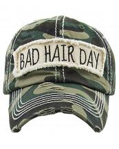 KBV1073(CAM)-wholesale-baseball-cap-bad-hair-day-embroidered-vintage-torn-stitch-cotton-velcro-size-adjustable(0).jpg
