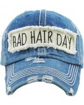 KBV1073(MDM)-wholesale-baseball-cap-bad-hair-day-embroidered-vintage-torn-stitch-cotton-velcro-size-adjustable(0).jpg