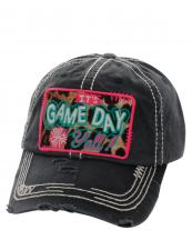 KBV1111(BK)-wholesale-cap-baseball-its-game-day-yall-leopard-patch-pompom-embroidered-washed-vintage-torn-cotton(0).jpg