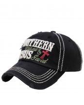KBV1120(BK)-wholesale-cap-southern-born-vintage-torn-stitch-baseball-cotton-embroidered-jesus-cross-saved-raised(0).jpg
