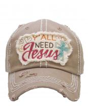 KBV1125(KHA)-wholesale-cap-embroidery-y-all-need-jesus-heart-cross-vintage-torn-baseball-hook-loop-closure-cotton(0).jpg