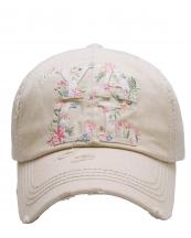 KBV1132(ST)-W98-wholesale-cap-floral-hey-yall-vintage-torn-stitch-baseball-cotton-embroidered-multicolor-patch-(0).jpg