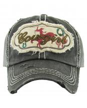 KBV1146(BK)-wholesale-cap-baseball-cowgirl-horse-ride-horseshoe-cactus-lasso-embroidered-vintage-torn-cotton(0).jpg