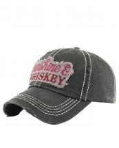 KBV1150(BK)-wholeale-cap-sunshine-whiskey-embroidered-baseball-vintage-torn-stitch-cotton-letter(0).jpg