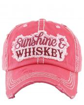 KBV1150(HPK)-wholeale-cap-sunshine-whiskey-embroidered-baseball-vintage-torn-stitch-cotton-letter(0).jpg