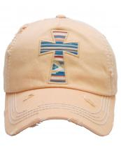 KBV1154(PCH)-wholesale-cap-cross-serape-aztec-multicolor-fabric-washed-vintage-torn-stitch-baseball-cotton-brim(0).jpg
