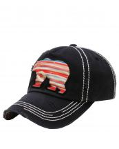 KBV1156(BK)-wholesale-cap-bear-serape-aztec-multi-color-fabric-washed-vintage-torn-stitch-baseball-cotton-brim(0).jpg
