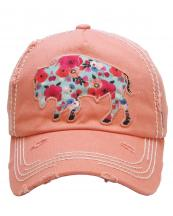 KBV1159(COR)-W93-wholesale-cap-buffalo-floral-multi-color-fabric-washed-vintage-torn-stitch-baseball-cotton-brim(0).jpg
