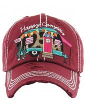 KBV1166(BUR)-wholesale-cap-leopard-happy-camper-baseball-cactus-pot-camping-trailer-embroidered-vintage-torn(0).jpg